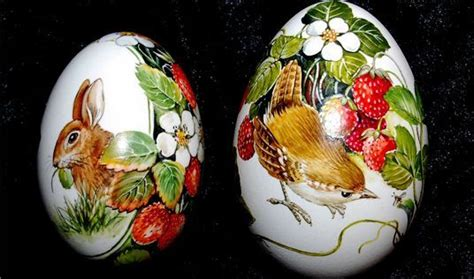 decoupage eggs 10 best images about pascuas pasquas on stains