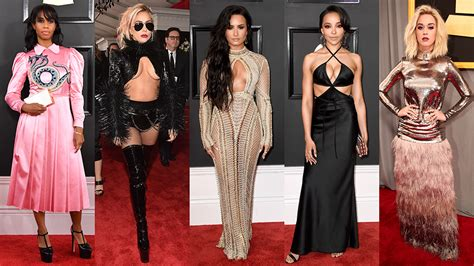 Grammy Wardrobe by Grammys Fashion 2017 Every Single Carpet Look
