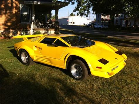 Buy Replica Lamborghini Buy New Lamborghini Countach Replica In Connersville