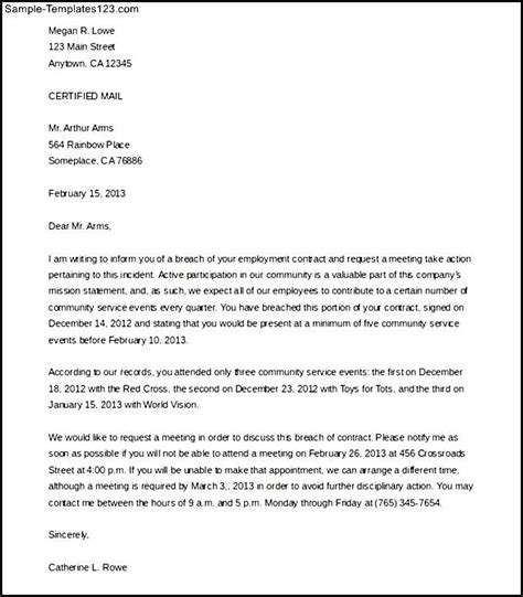 Contract Letter For Business Business Contract Termination Letter Livecareer Oihwrk