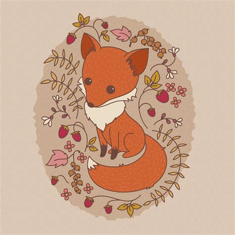 vector fox tutorial how to create a hand drawn fox illustration in adobe