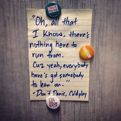 don t panic coldplay pen to paper on pinterest 414 pins