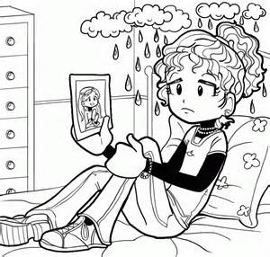 dork diaries coloring pages dork diaries printable coloring pages coloring home