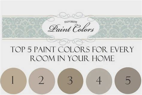 paint color questions reader question top 5 paint colors for every room in