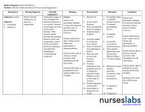 How To Write A Nursing Care Plan Template by Asthma Nursing Care Plan Nursing Care Plan Exles