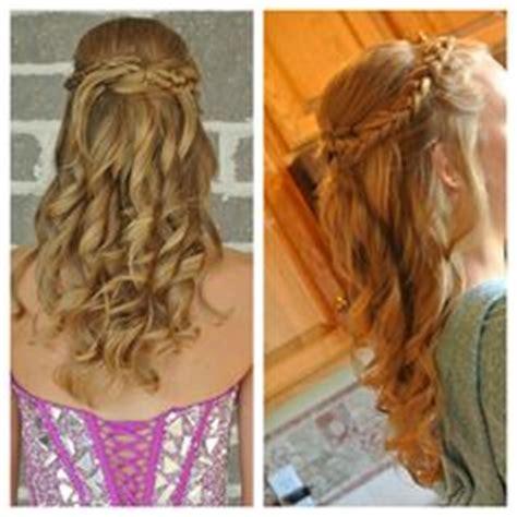 easy hoco hairstyles hoco hair ideas on pinterest homecoming hair