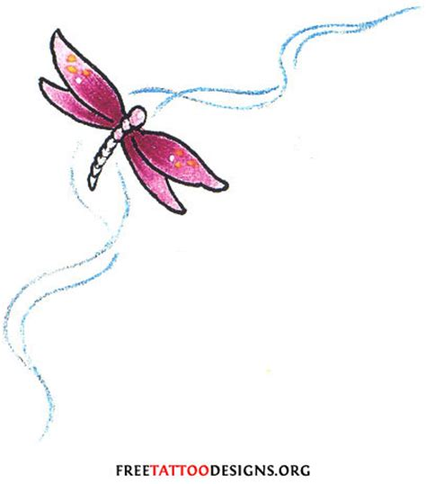 pink dragon tattoo designs 50 dragonfly tattoos