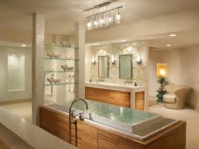 Hgtv Master Bathroom Designs by Spa Like Calming Hues And Finishes Are Combined With