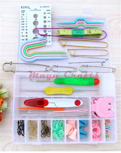 Alat Rajut paket aksesoris alat rajut lengkap crafts