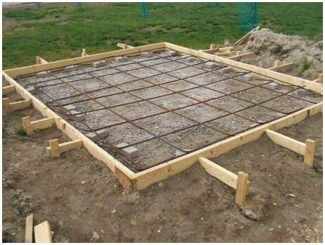 build  concrete block shed foundation haddi