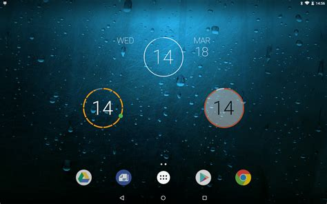 android clock onca clock widget android app review