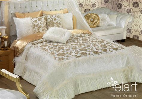 Bedcover California Marinka saray bed cover from elart bed covers turkey