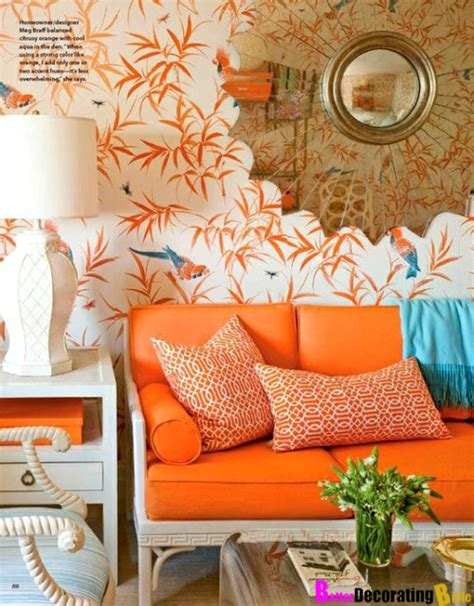 orange home decorations orange wallpaper home decor 2017 grasscloth wallpaper