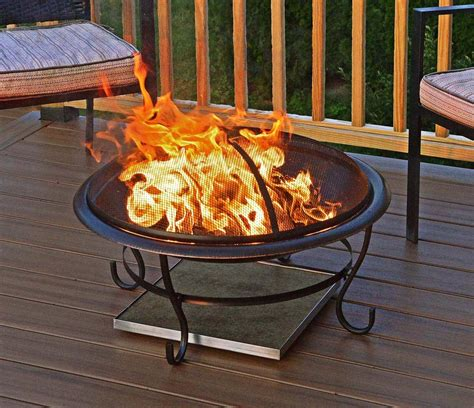 Firepit Pad Pit Pad For Deck Pit Design Ideas