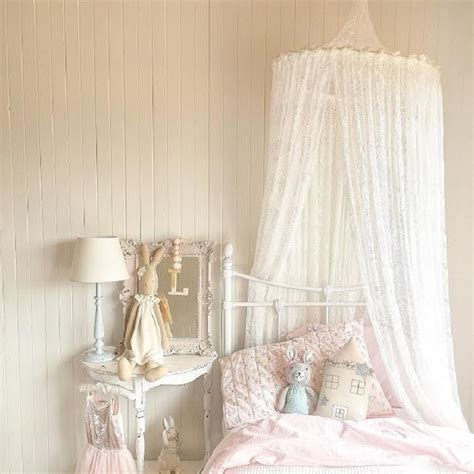 kids canopy bed curtains nordic white lace girls princess dome canopy bed curtains