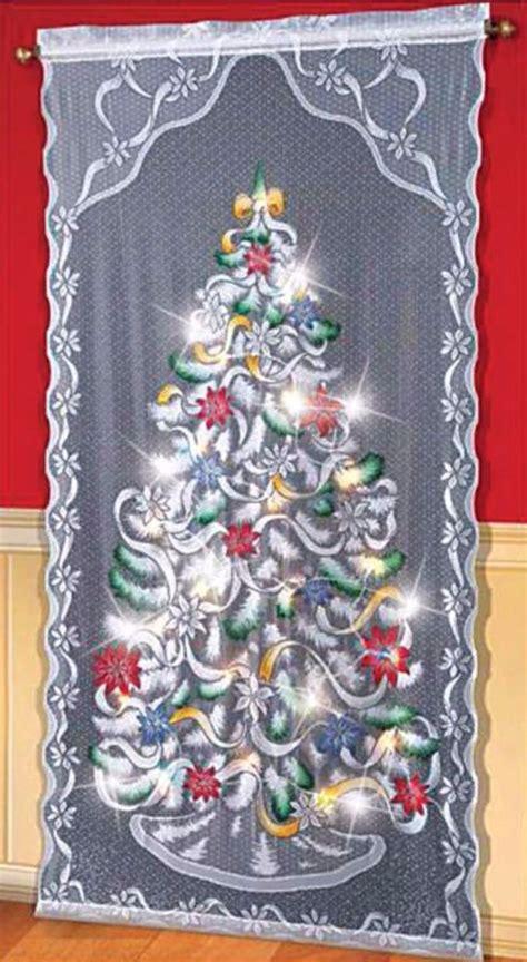 christmas tree curtain lights 60 wall christmas tree alternative christmas tree ideas