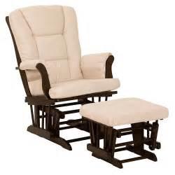 stork craft hoop glider chair amp ottoman set