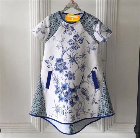 Dress Batik Pekalongan Kelelawar Biru 1069 best images about klambi batik on day dresses fashion weeks and linen shirts
