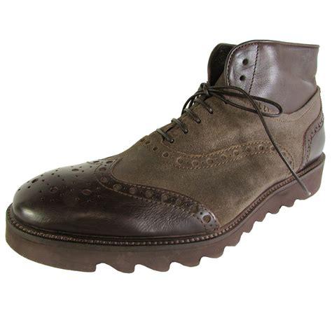donald j pliner mens stu 77 wingtip boot shoes ebay