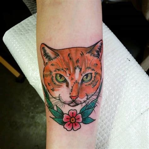 tattoo ginger cat 117 cat tattoos that are way too purrfect
