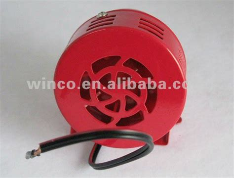 Sirene Alarm Mini Motor Siren Ms 190 Ac 220 Volt electric mini motor siren ms 190 ac dc buy motor siren ms 190 electric motor siren mini motor
