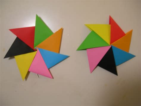 figuras geometricas origami papiroflexia en la escuela septima star