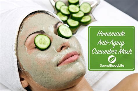 diy cucumber mask we our anti aging cucumber mask