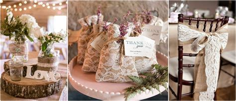 45 Chic Rustic Burlap & Lace Wedding Ideas and Inspiration   TulleandChantilly.com