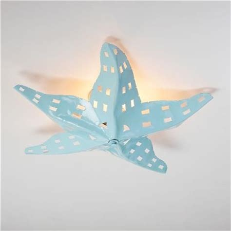 tropical lights starfish ceiling light theme bathroom metals and