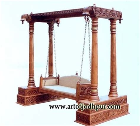 jhula swing jhula teak wood swing jodhpur handicrafts used sofa for