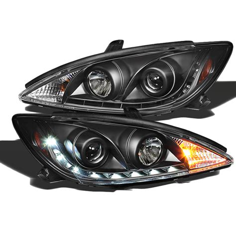 2004 toyota camry light 2002 2004 toyota camry led drl projector headlights