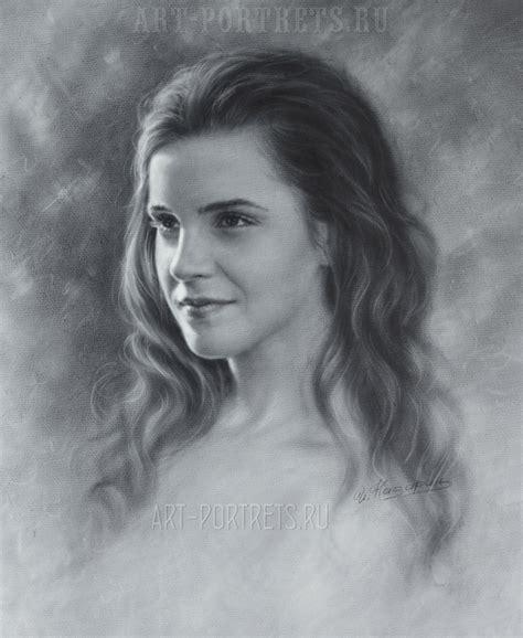 emma watson drawing emma watson drawing portrait video