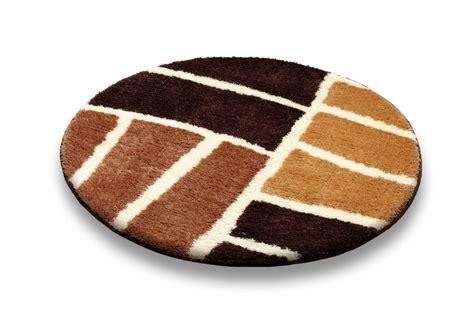 tappeto rotondo grigio tappeti rotondi per bagno homehome
