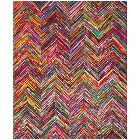 11 X 15 Area Rug Safavieh Nantucket Pink Multi 11 Ft X 15 Ft Area Rug Nan141a 1115 The Home Depot