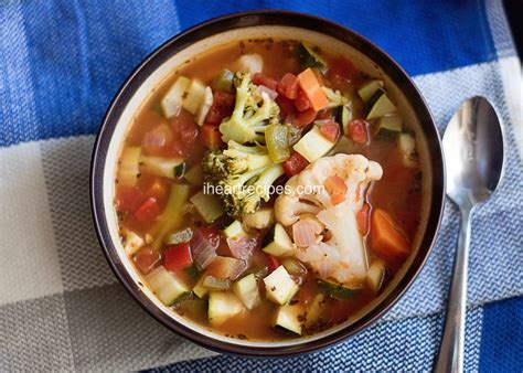 Vegetable Soup Recipes For Detox Diet by 7 Day Vegetable Soup Diet I Recipes