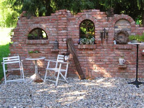 Garten Steinmauer Terrasse Gartendeko Blog Ruinenmauern