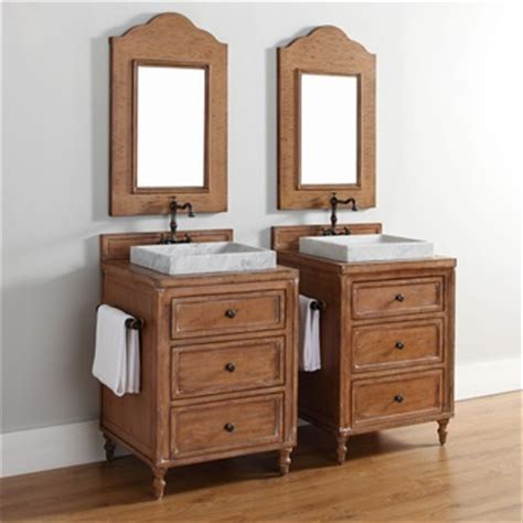 Light Wood Bathroom Vanity Homethangs Has Introduced A Guide To Using Light Wood Bathroom Vanities In A Cottage Style