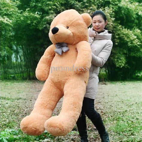 Best Quality Hot 100cm Giant Huge Big Soft Plush White ... Giant Pink Teddy Bear