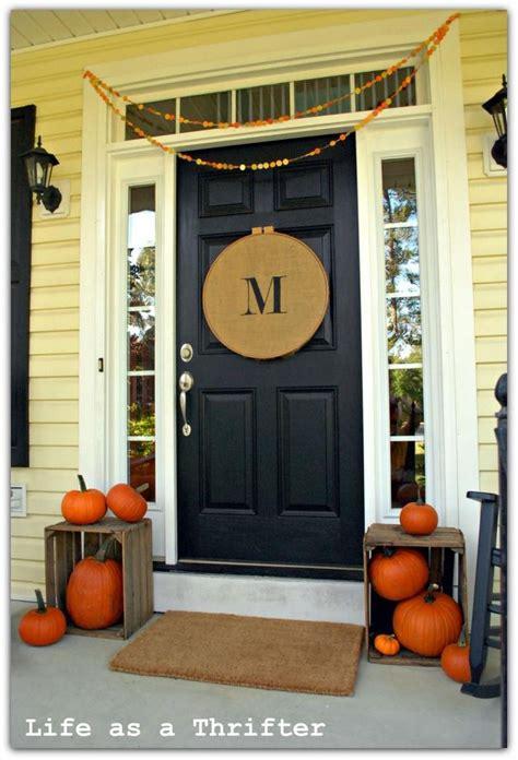 home door decoration 106 best charming diy fall decorations interior sets