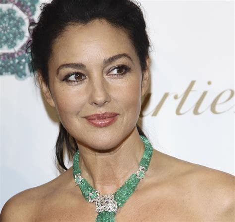 monica bellucci face shape secrets for youthful brows anti aging treatments sparse