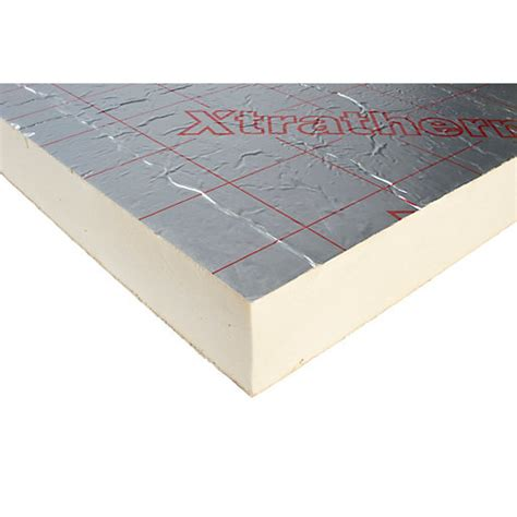 xtratherm pitched roof insulation board 100mm x 1200mm x