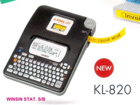 Unik Ez Label Printer Casio 9 Mm Ug 76w Harga Sale winsin stationery sdn bhd