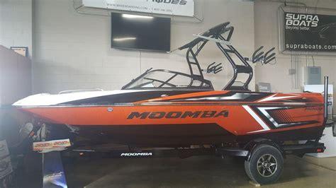 moomba boat orange new 2017 moomba mondo stock moo111480 demo the boat house