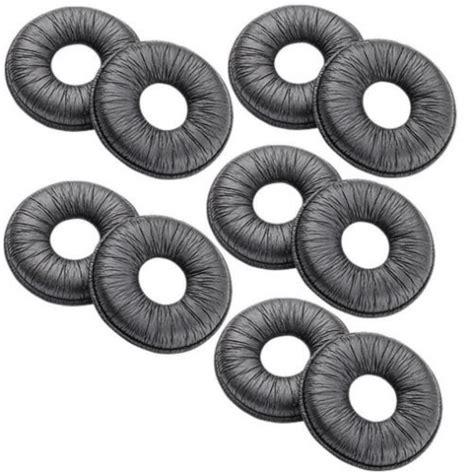 cordless telephones handsets plantronics leatherette ear cushion for plantronics leatherette ear cushions pk10