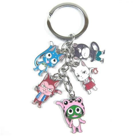 Anime Keychains by Charm Keychain Exceed For Sale