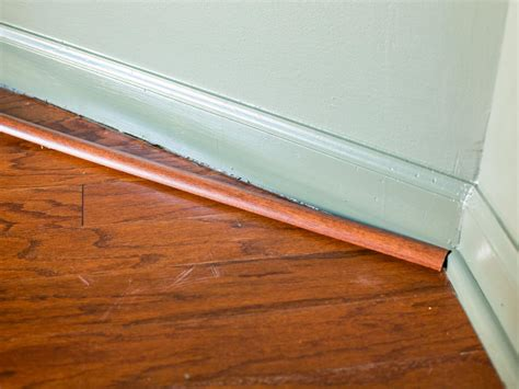Hardwood Floor Molding Tips For Matching Wood Floors Home Remodeling Ideas For Basements Home Theaters More Hgtv