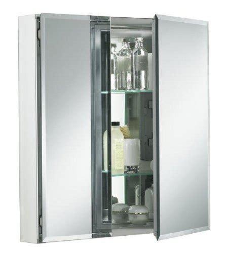 kohler 24 inch medicine cabinet kohler k cb clc2526fs 25 by 26 by 5 inch double door