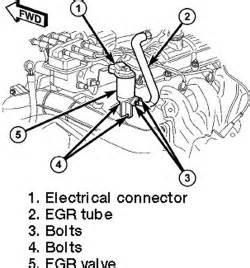 repair guides component locations egr valve