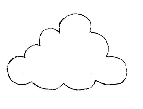 cloud template   clip art  clip art