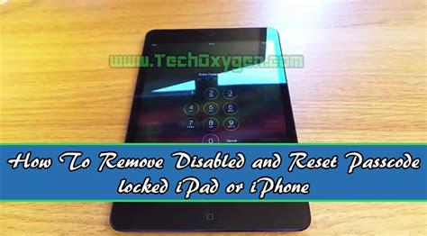 factory reset locked iphone without itunes how to remove disabled iphone reset password locked ipad